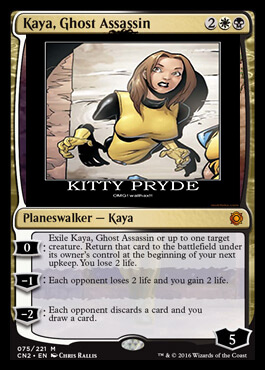 Kaya The MTG Shadowcat