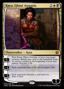 kaya ghost assassin planeswalker